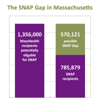 SNAP Gap graphic