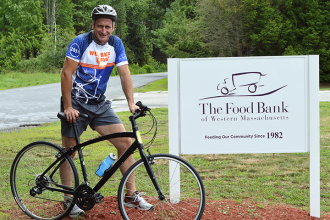 Sponsor Andrew's 100 mile WB4F ride to support The Food Bank by wisiting http://andrew.willbike4food.org..