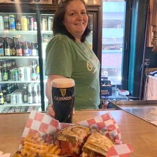 Theodores' bartender Carrie Milliken