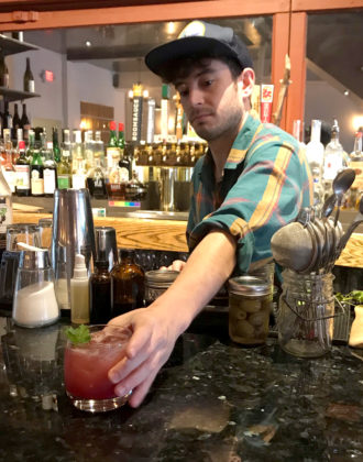 Homestead Bartender Cody Austin