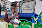 With added safety measures, Mobile Food Bank distributes food in Adams