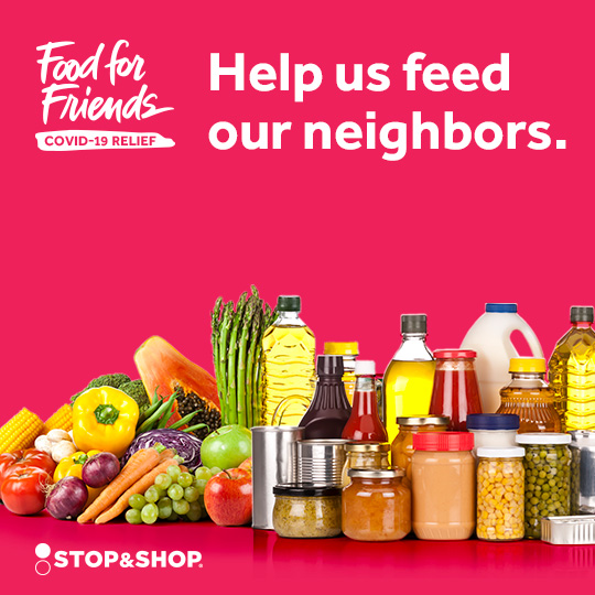 Stop & Shop Food For Friends Campaign