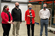 Sen. Warren, Congressman McGovern tour Food Bank of Western Massachusetts, hear pitch for more funding